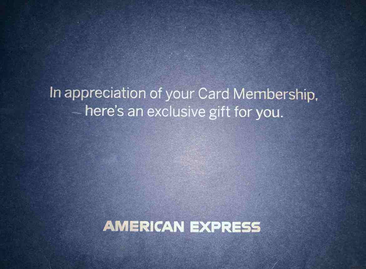 Did Anyone Else get a Gift Card from AMEX?