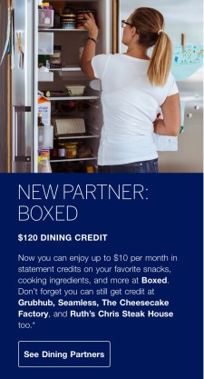 The American Express Gold Dining Credit Can Now be Used with
