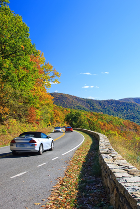 Blue Ridge Parkway Fall Foliage Views