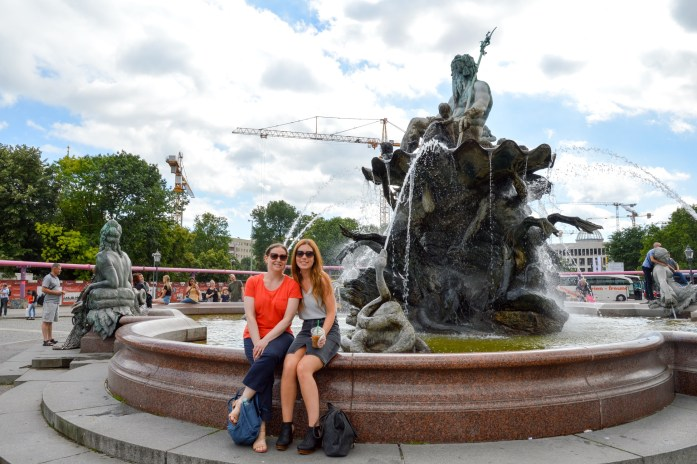 Neptunbrunnen, Alexanderplatz, Berlin, Germany