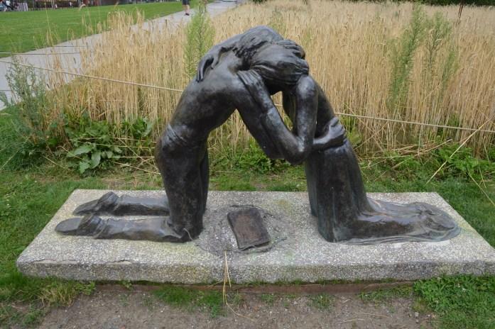 Reconciliation, Berlin Wall Memorial, Berlin, Germany