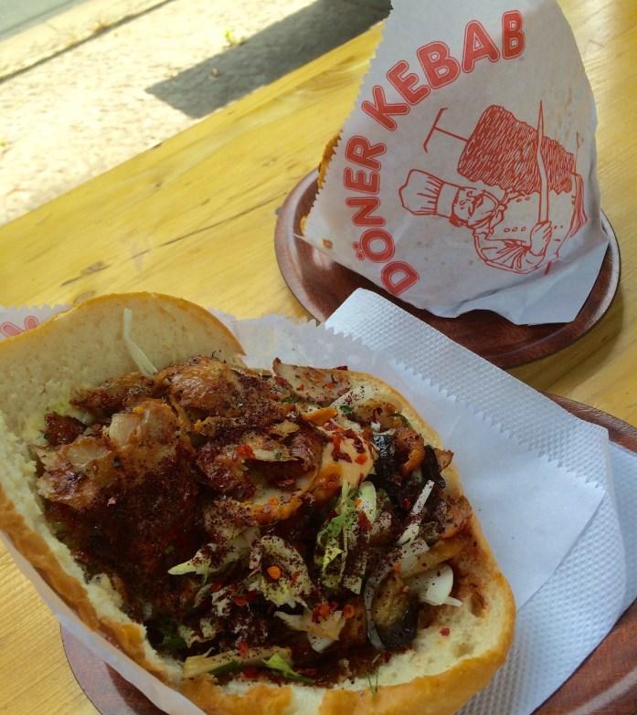 Döner kebab, Dubai Gemüse Kebab, Berlin