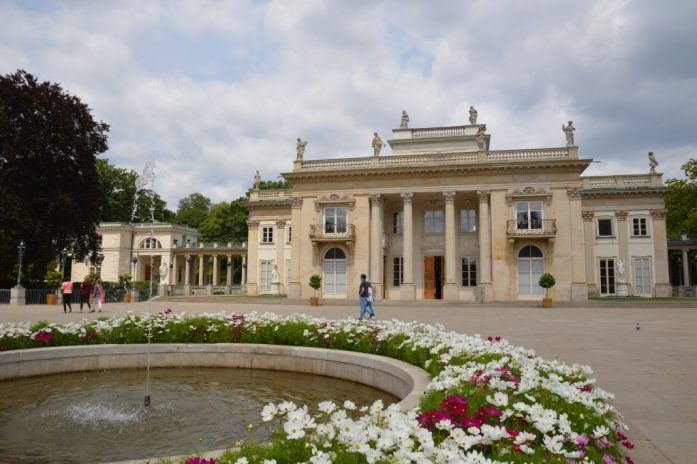 Palace on the Isle, Łazienki Park, Warsaw, Poland