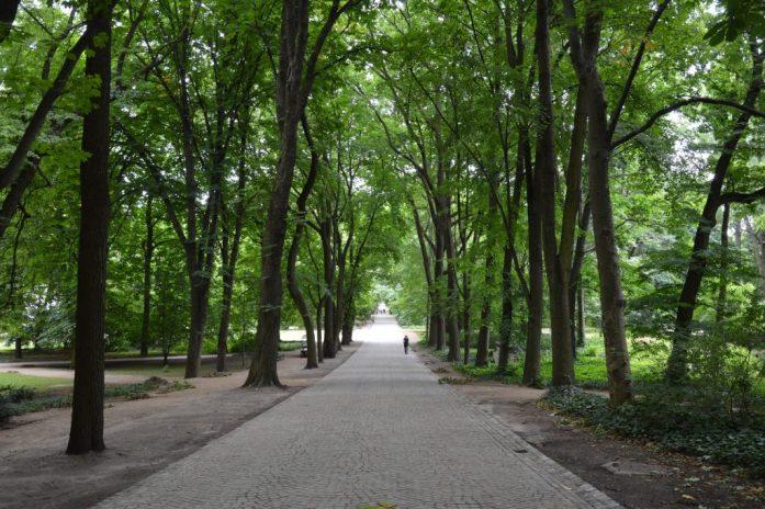 Łazienki Park, Warsaw, Poland