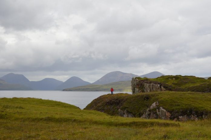 View of the Cuillins, Tokavaig, Isle of Skye, Scotland