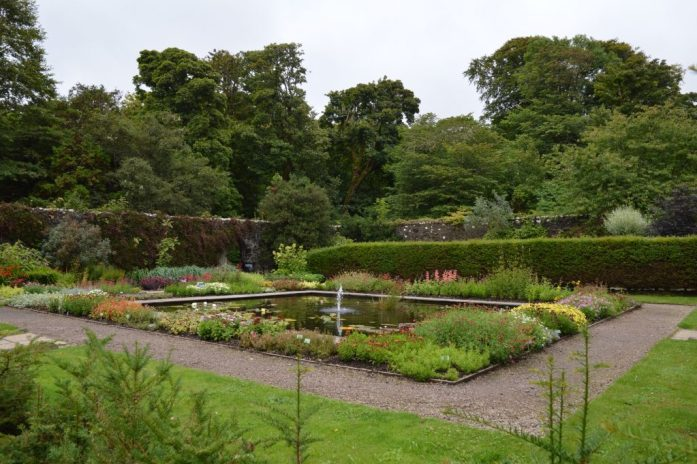 Dunvegan Castle gardens, Isle of Skye, Scotland