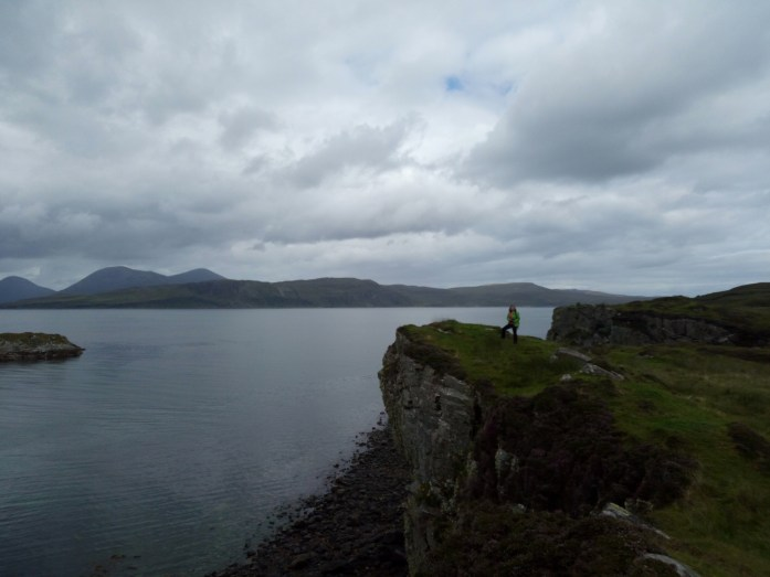 View of the Cuillins from Tokavaig, Isle of Skye, Scotland