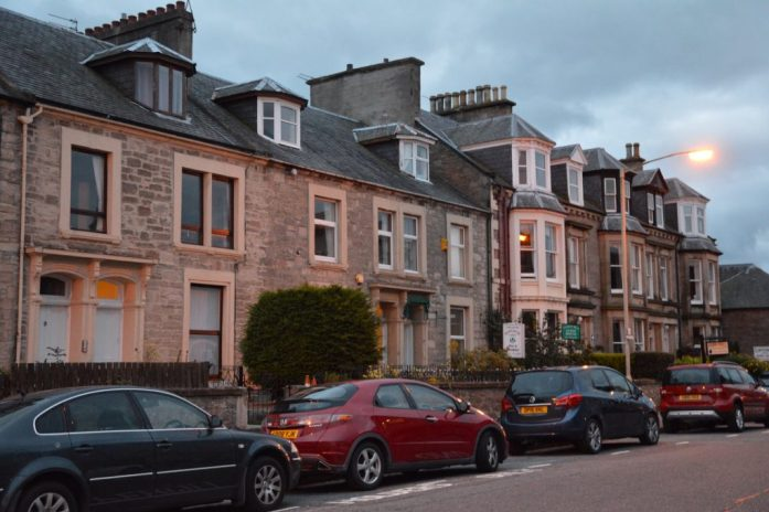 Ardconnel Street, Inverness, Scotland