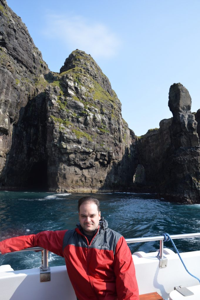 Vestmanna bird cliffs boat tour, Faroe Islands