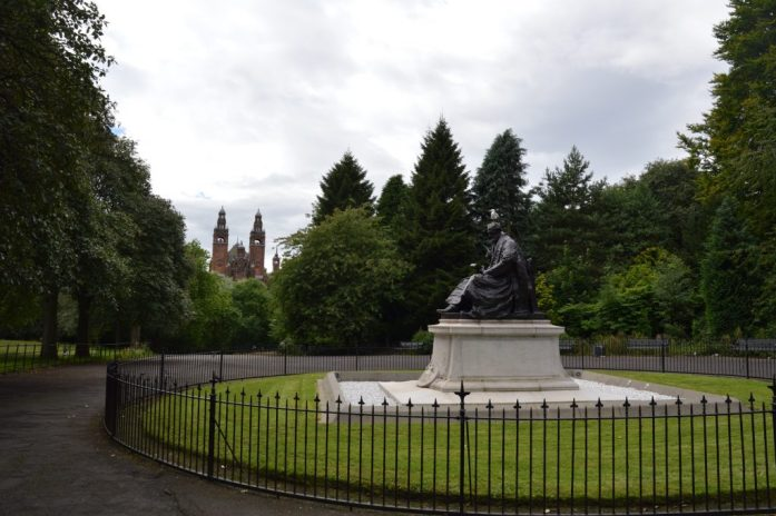 Kelvingrove Park, Glasgow, Scotland
