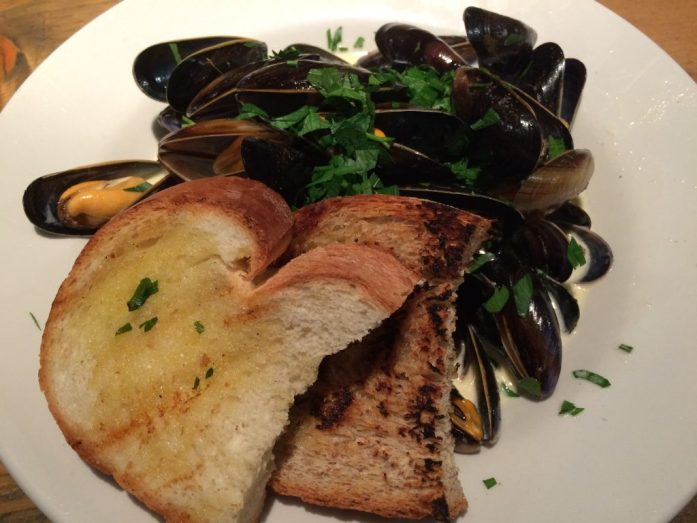 Scottish mussels, Glasgow