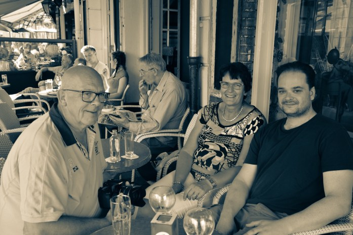 With Ine and Ruud in Den Bosch, the Netherlands