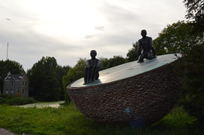 Sculpture, Westerpark, Amsterdam, the Netherlands