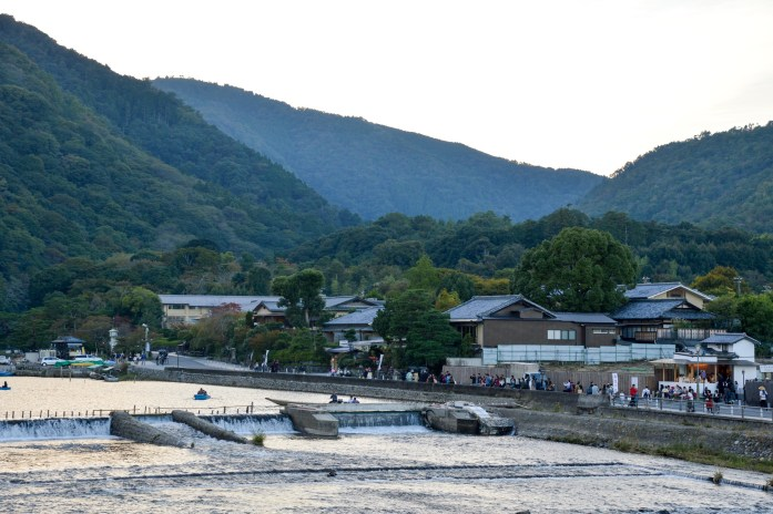 Ōi River, Arashiyama, Kyoto, Japan