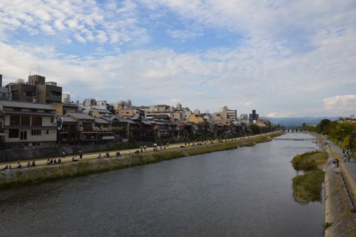 Kamo River, Kyoto, Japan