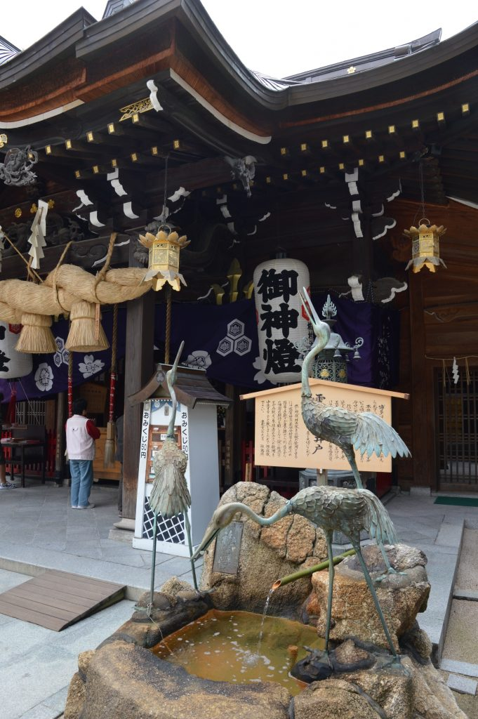 Kushida-jinja Shrine, Fukuoka, Japan
