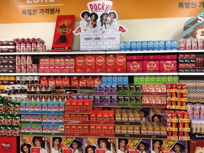 Picky display in E-Mart, Seoul, South Korea