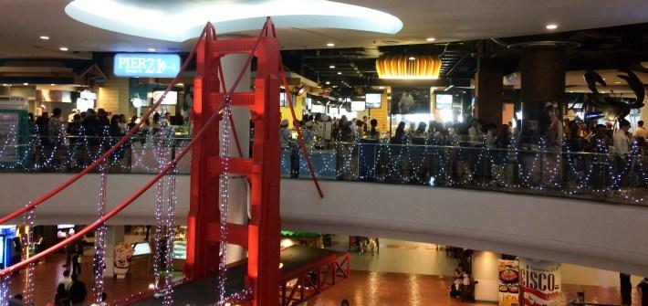 Pier 21 at Terminal 21, Bangkok, Thailand
