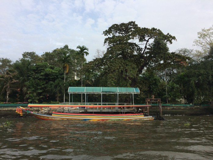View from the Chao Phraya Express Boat, Bangkok, Thailand