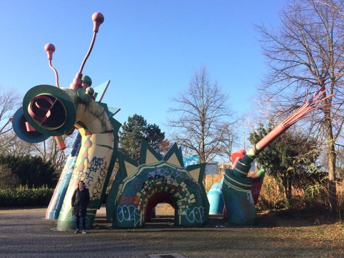 Miscellaneous monster in Düsseldorf, Germany