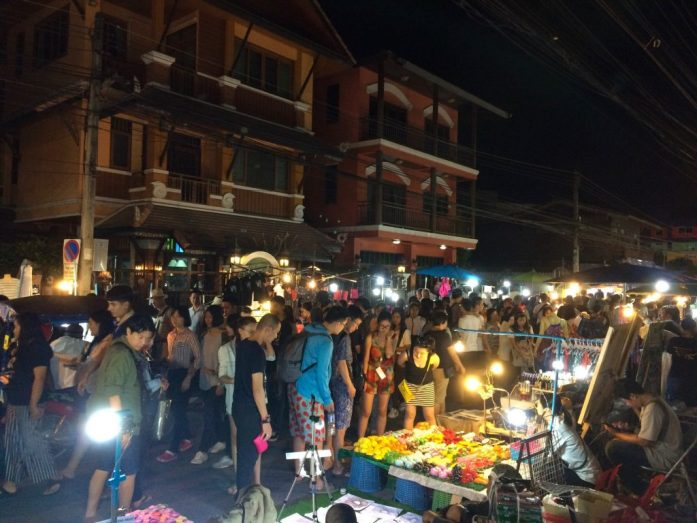 Saturday Night Walking Market, Chiang Mai, Thailand
