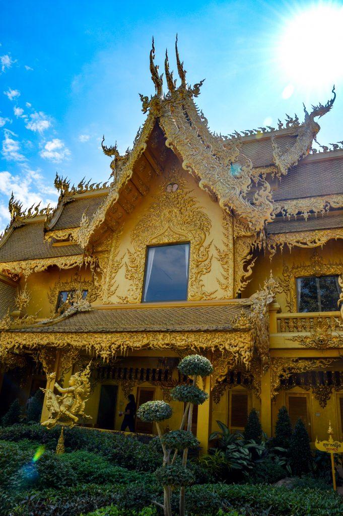 The bathroom at The White Temple, Chiang Rai, Thailand