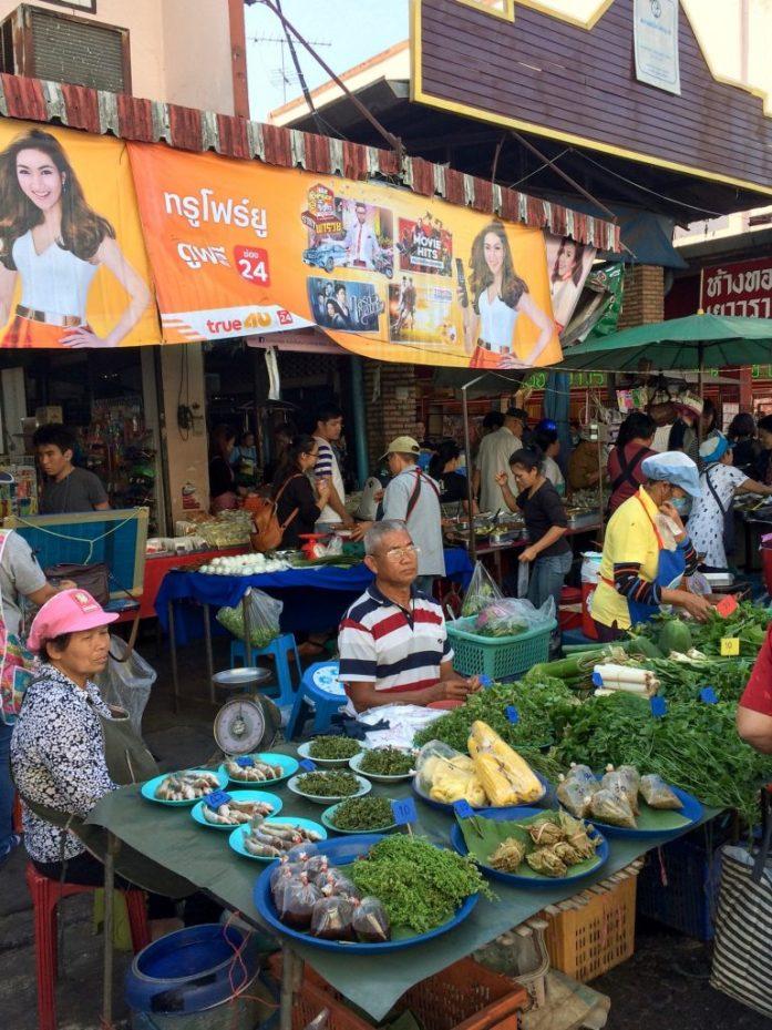 Market in Chiang Rai, Thailand
