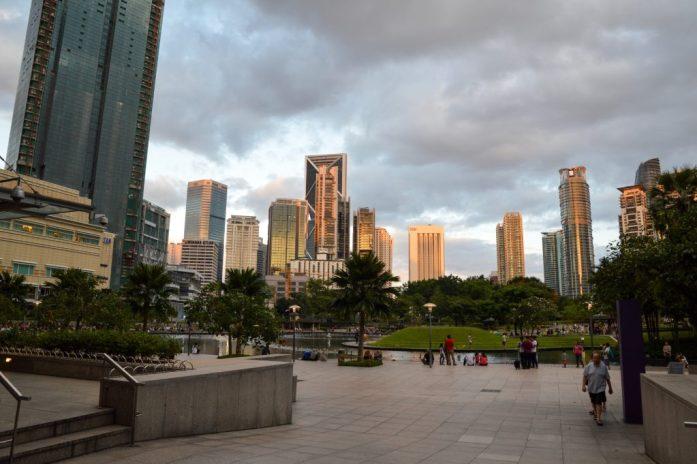 KLCC Park, Kuala Lumpur, Malaysia