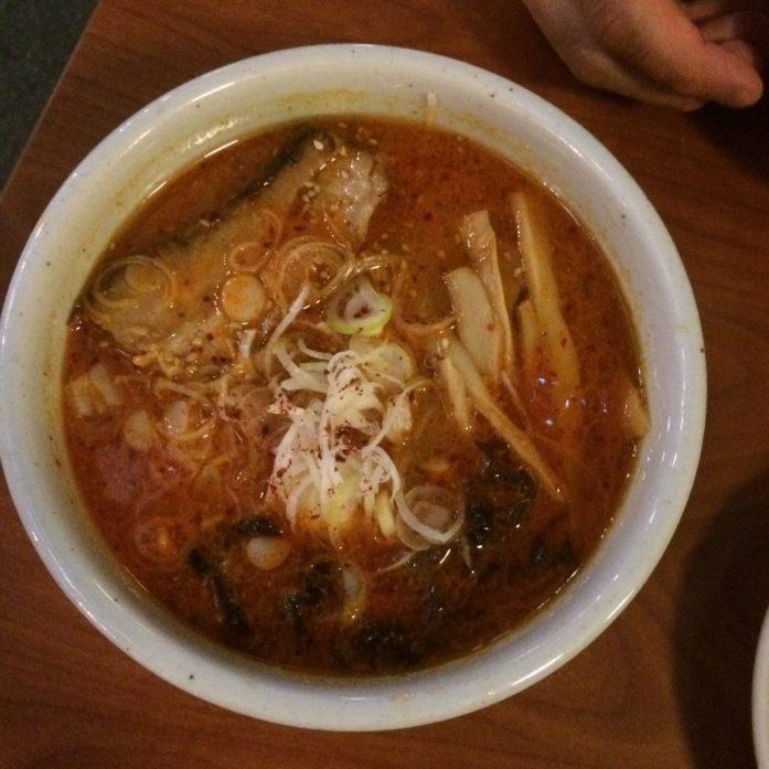Spicy ramen, Hokkaido Ramen Santouka, Singapore