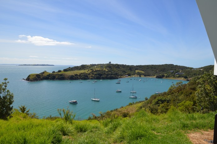Waiheke Island bay, New Zealand