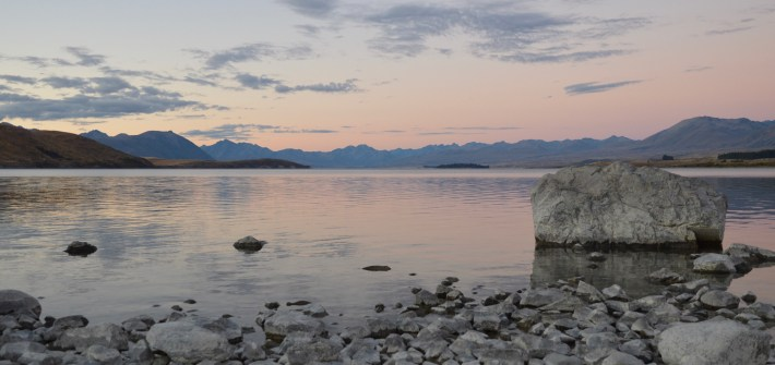Sunset, Lake Tekapo, New Zealand