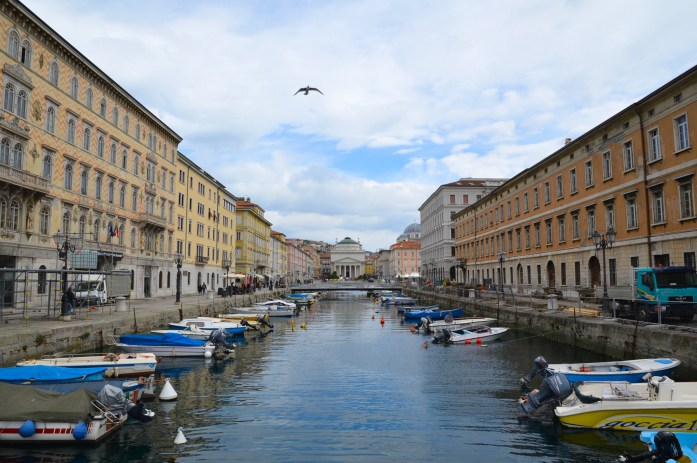 Canal Grande, Trieste, Italy