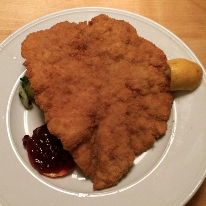 Wiener Schnitzel, Bärenwirt, Salzburg, Austria