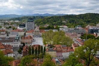 Castle Hill, Ljubljana, Slovenia