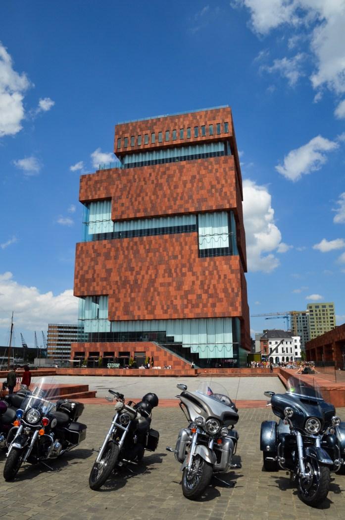 Museum aan de Stroom (MAS), Antwerp, Belgium