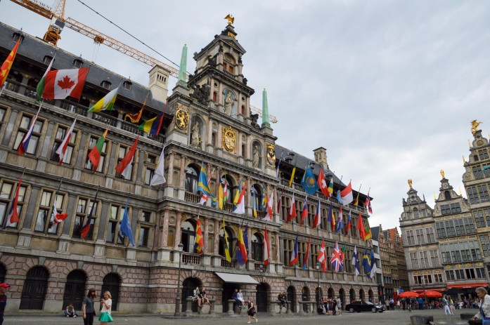 Stadhuis, City Hall, Antwerp, Belgium