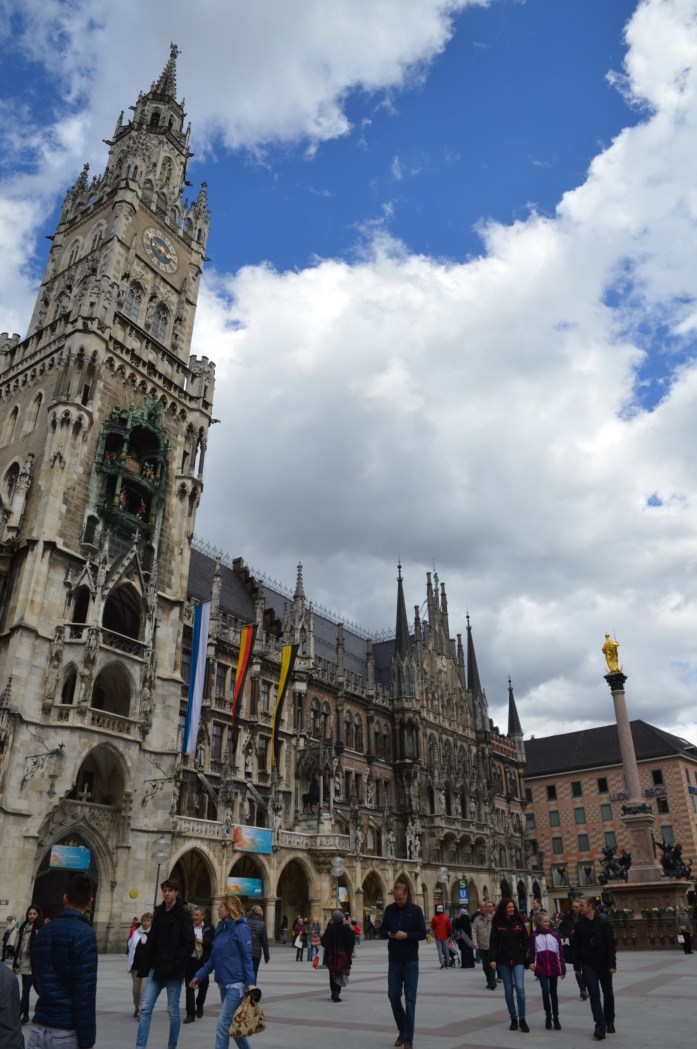 Neues Rathaus (New Town Hall), Munich, Germany