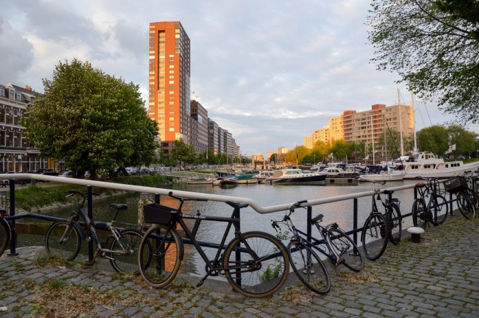 Bikes in Rotterdam, the Netherlands