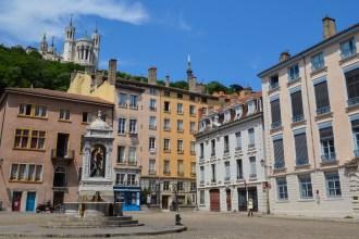 Place Saint-Jean, Vieux-Lyon, Lyon, France