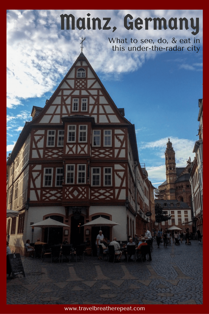 What to see, do, and eat in Mainz, Germany including a Rhine River valley ferry cruise