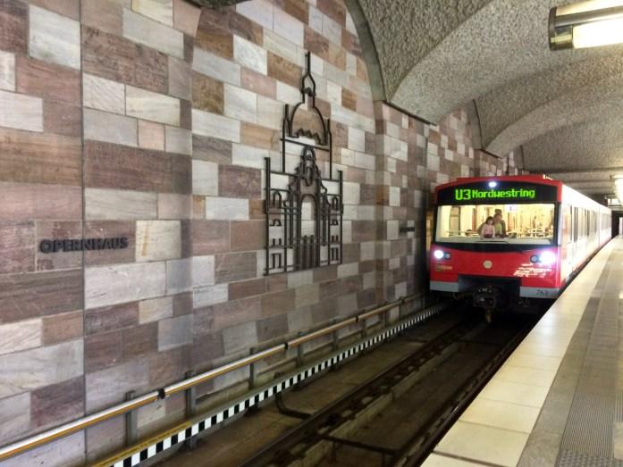 U-Bahn, Nuremberg, Germany
