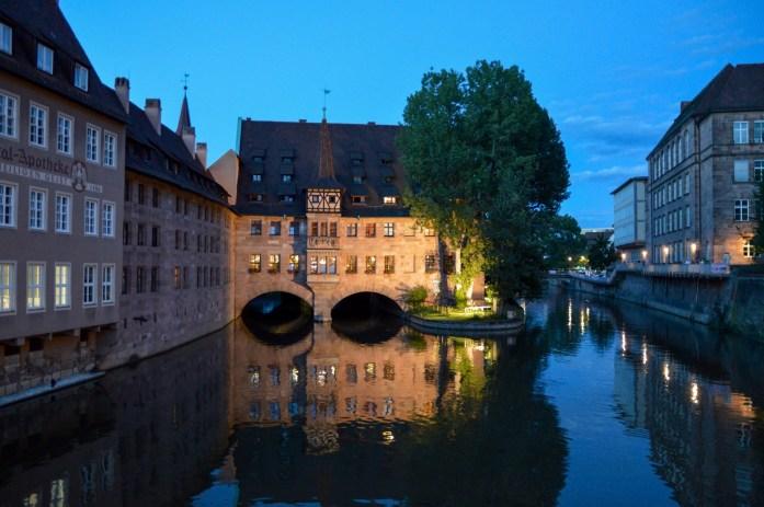 Heilig-Geist-Spital (Hospice of the Holy Spirit), Nuremberg, Germany