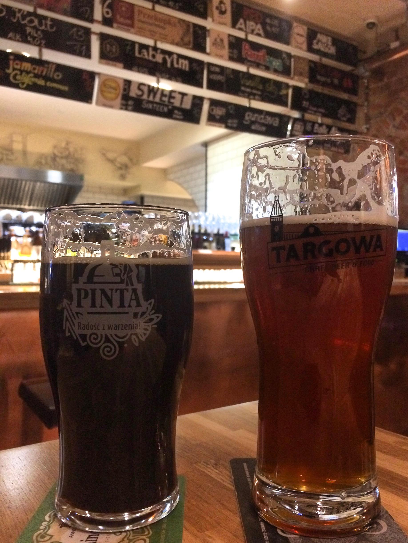 Polish craft beer, Targowa Craft Beer and Food, Wroclaw, Poland