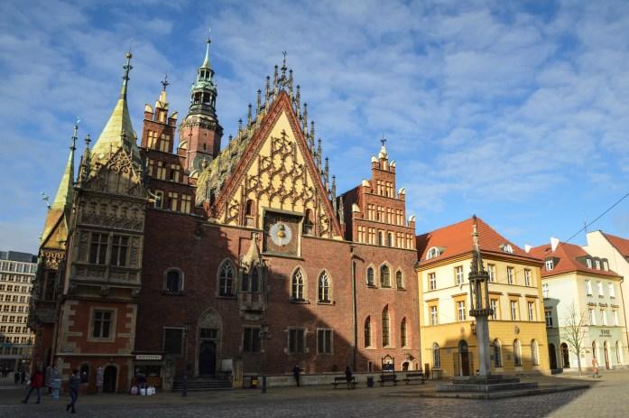 Old Town Hall, Rynek, Wroclaw, Poland