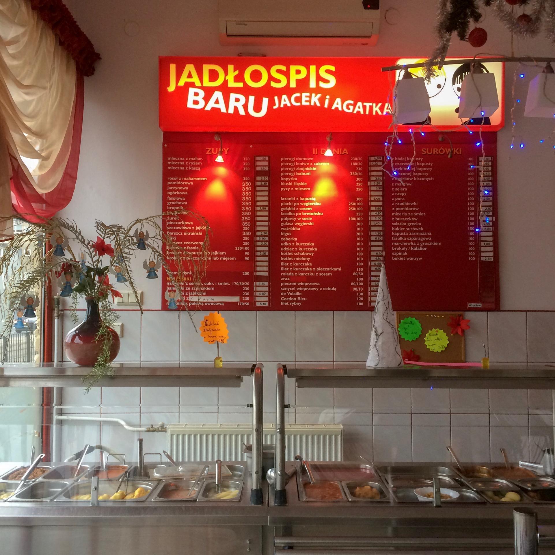 Jacek and Agatka Milk Bar, Wrocław, Poland