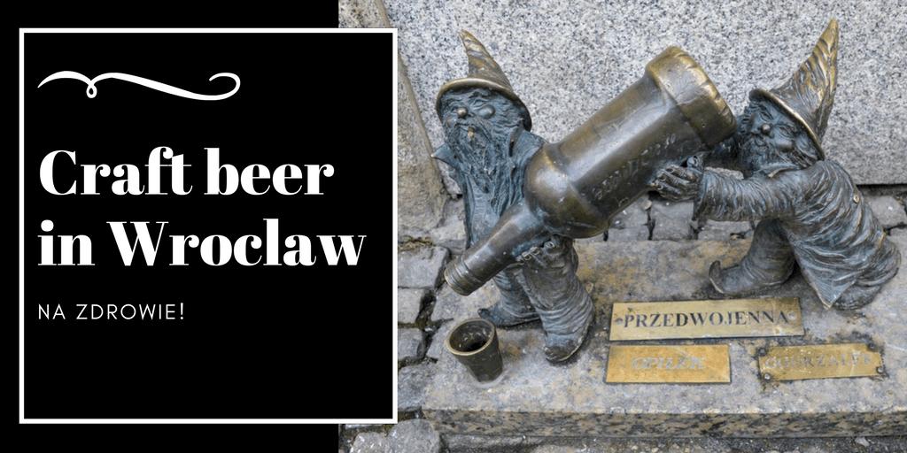 Polish craft beer bars in Wroclaw