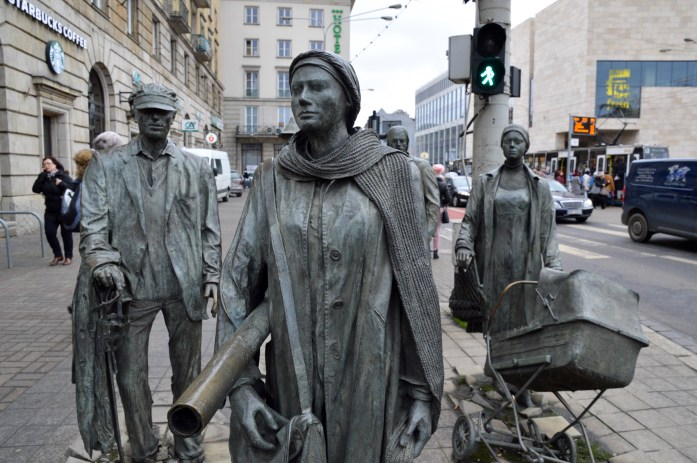 Anonymous Pedestrians, Wroclaw, Poland
