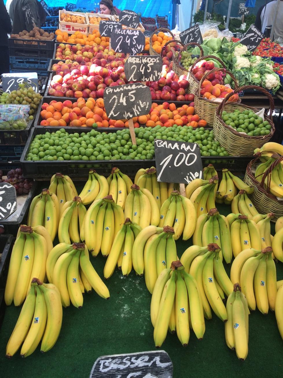 Rotterdam market, the Netherlands
