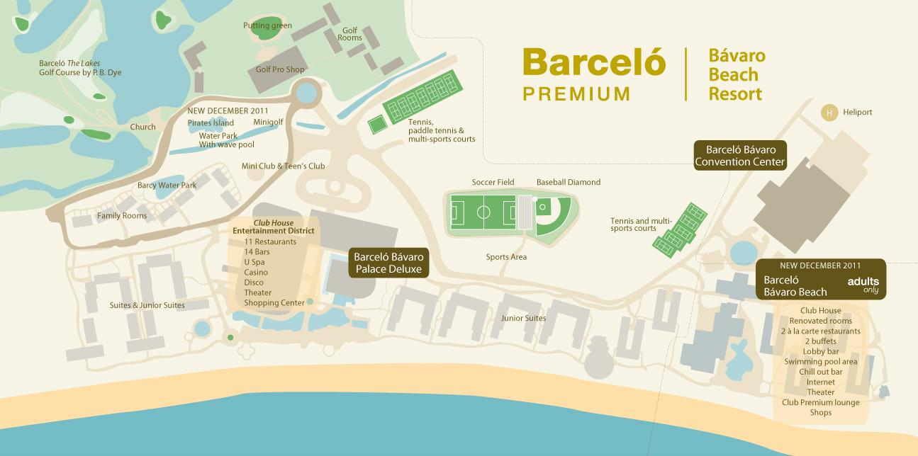 Barcelo Bavaro Palace Deluxe Travel By Bob
