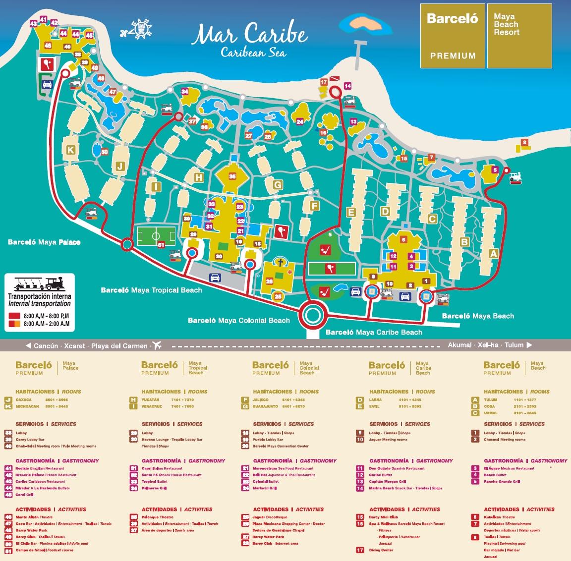 Barcelo Maya Beach Amp Caribe Travel By Bob